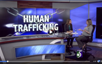 Meg McLeod is interviewing Allie Martinez from Underground Railroad about Human Trafficking
