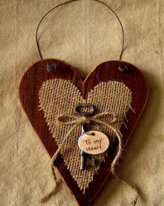 JOIN US FOR A CRAFT NIGHT & DESIGN A WOOD HEART DOOR HANGER