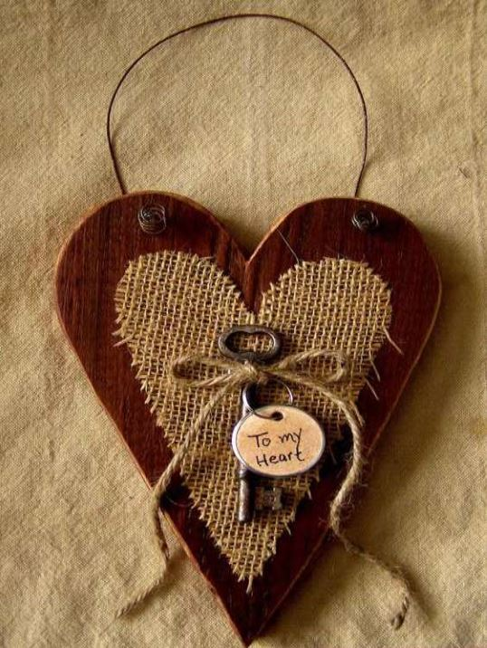 Join Us For A Craft Night Design A Wood Heart Door Hanger