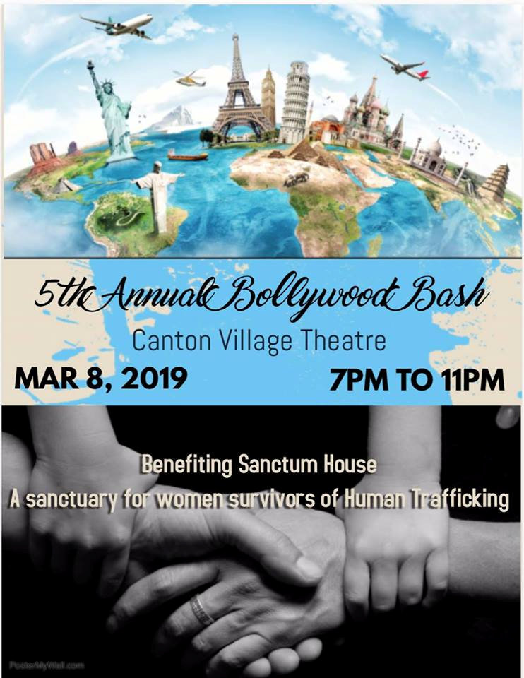 5th annual Bollywood bash benefiting Sanctum House and the fight against human trafficking
