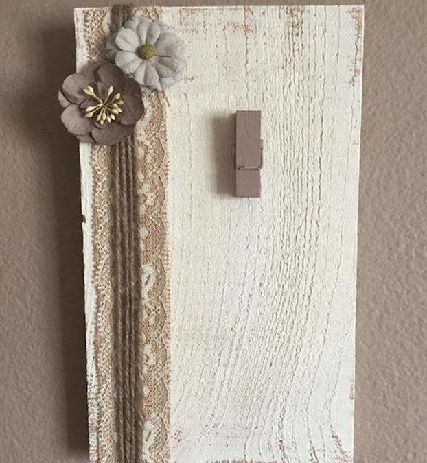 Join Us for a Craft Night and Create a Unique Picture Holder