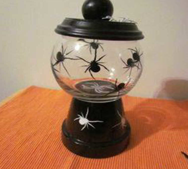 Join Us for a Craft Night and Create a Halloween Candy Dish