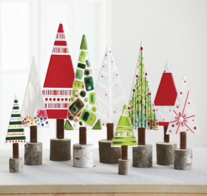 Join Us for a Craft Night and Create a Glass Holiday Tree Decoration